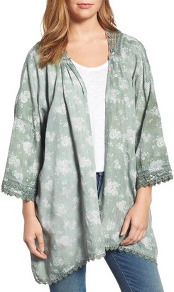 Women's Billy T Woven Cardigan $98 thestylecure.com