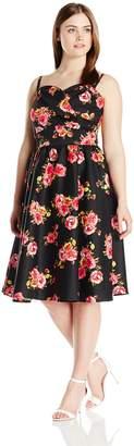 Stop Staring Women's Plus Size Ariana Swing Dress
