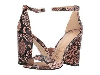 Sam Edelman Yaro Ankle Strap Sandal Heel