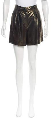 Elizabeth and James Metallic Mini Shorts w/ Tags