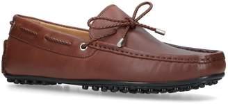 Kurt Geiger London Leather Matthew Driving Shoes