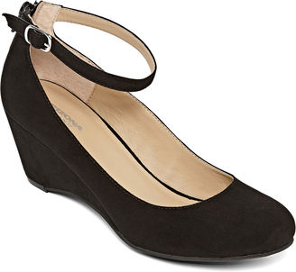 ARIZONA Arizona Laflin Ankle-Strap Wedge Pumps $50 thestylecure.com