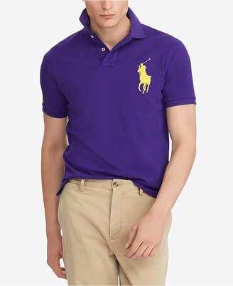 Polo Ralph Lauren Men Custom Slim Fit Cotton Polo