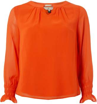 Dorothy Perkins Womens **Billie & Blossum Petite Orange Blouse
