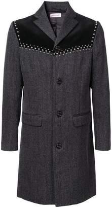 Palm Angels V-cut studded coat