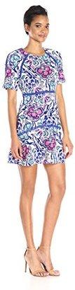 Juicy Couture Black Label Women's Knt Jacquard Dress $138 thestylecure.com