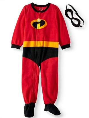 Disney Holiday Family Sleep The Incredibles Family Matching Onesie Pajama (Baby Boys or Baby Girls & Toddler Boys or Toddler Girls Unisex)
