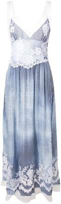 Ermanno Scervino striped maxi dress