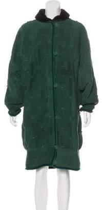 Giuliana Teso Shearling Long Coat