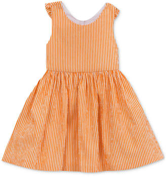 Rare Editions Bow-Back Seersucker Dress, Toddler Girls
