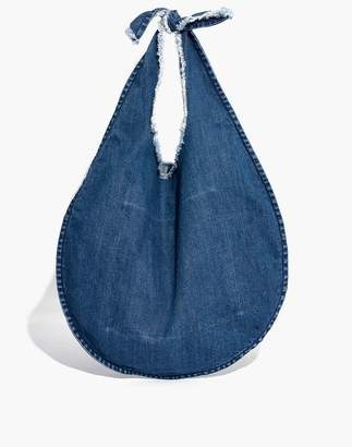 Madewell Denim Knotted Tote