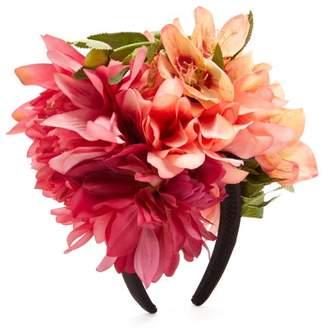 Dahlia Philippa Craddock Faux Flower Headband - Womens - Multi