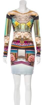 Mary Katrantzou Printed Silk Dress