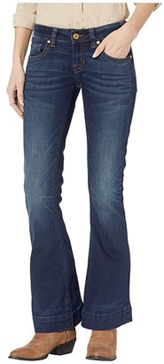 Rock and Roll Cowgirl Trousers in Dark Vintage W8-9219
