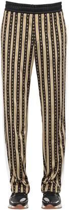 Versace Greca Printed Jersey Track Suit Pants