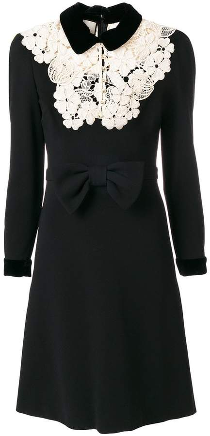 Gucci embroidered dress