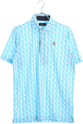 Munsingwear (マンシングウェア) - マンシングウエア Munsingwear メンズ ゴルフ 半袖 シャツ ニットMGMLJA01