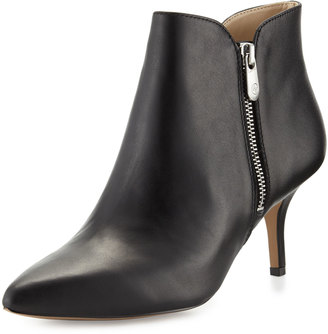 Adrienne Vittadini Double-Zip Pointed-Toe Bootie $99 thestylecure.com