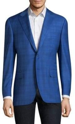 Canali Plaid Wool Sportcoat