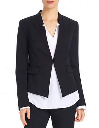 Ellen Tracy Reverse Notch Collar Jacket