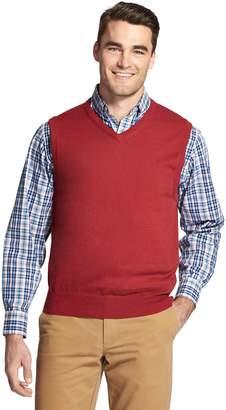 Izod Men's Premium Essentials Classic-Fit Wool-Blend Sweater Vest