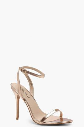 94f4476d1d boohoo Pointed Toe Barely There Heels