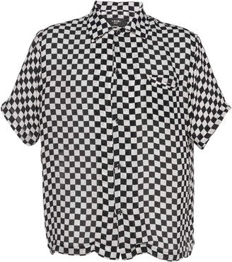 Amiri Checkered Short Sleeve Shirt