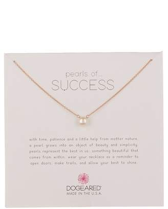Dogeared Pearls of Success 6mm Pearl Pendant Necklace