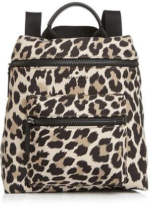 Kate Spade That's The Spirit Leopard Print Convertible Backpack