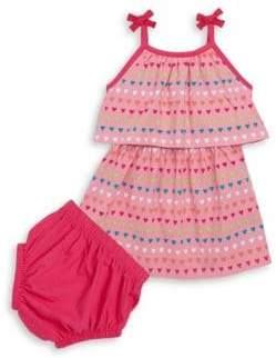 Hatley Baby's Two-Piece Heart Dress& Bloomer Set