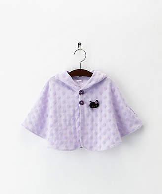 Anna Sui (アナ スイ) - [ANNA SUI mini] ネコモチーフ付ケープ(7081501)