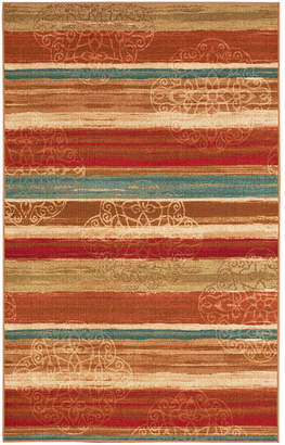 Mohawk Home Soho Mumbai Rainbow Printed Rectangular Indoor Area Rug
