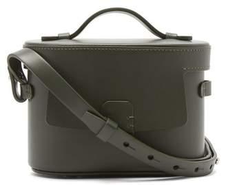 Nico Giani - Frera Mini Matte Leather Cross Body Bag - Womens - Dark Green