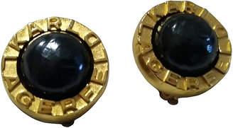 One Kings Lane Vintage Lagerfeld Black Pearl Earrings