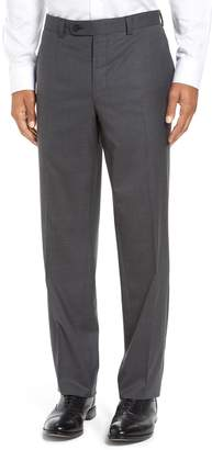 David Donahue Ryan Regular Fit Wool Trousers