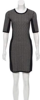 Rag & Bone Knit Short Sleeve Dress