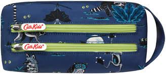 Cath Kidston Night Animals Junior Double Zip Barrel Pencil Case