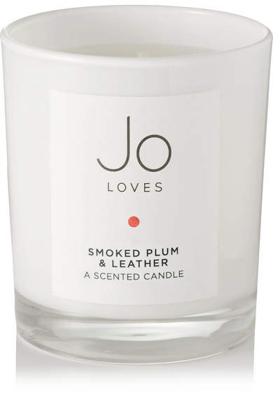 Jo Loves - Smoked Plum & Leather Scented Candle, 1...