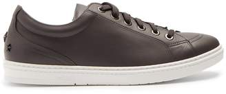 Jimmy Choo Cash low-top leather trainers