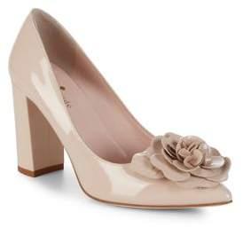 Kate Spade New York Pixanne Leather Block Heel Pumps