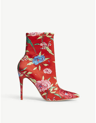 Aldo Cirelle floral-print heeled ankle boots