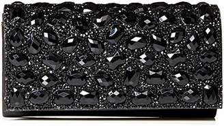 Jessica McClintock Chloe Large Sparkle Stone Evening Clutch