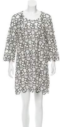 Ungaro Lace Shift Dress White Lace Shift Dress