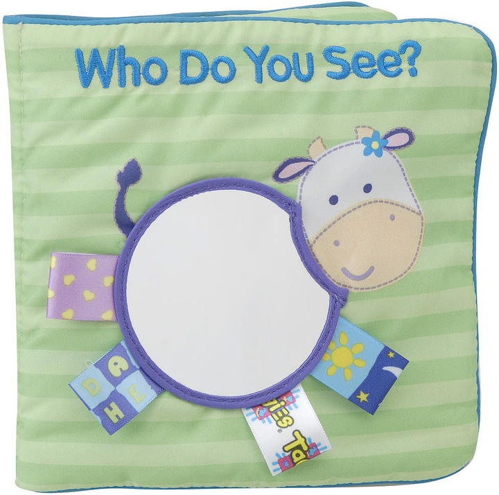 Scholastic My First Taggies Cloth Book: Who Do You See? I See Me!