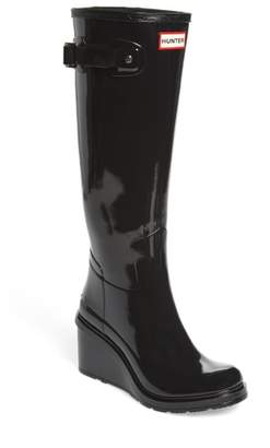 Hunter Refined Wedge Rain Boot