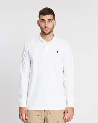 Polo Ralph Lauren LS Ultra-Knit Cotton Jersey Rugby Shirt