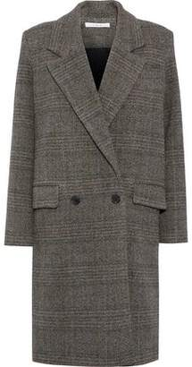 IRO Double-Breasted Herringbone Wool Coat