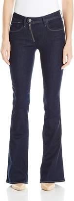 G Star Women's Lynn Zip High Rise Flare Leg Jean