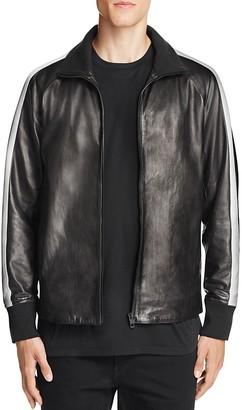 rag & bone Leather Track Jacket $1,195 thestylecure.com