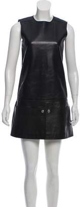 Courreges Leather Shift Dress
